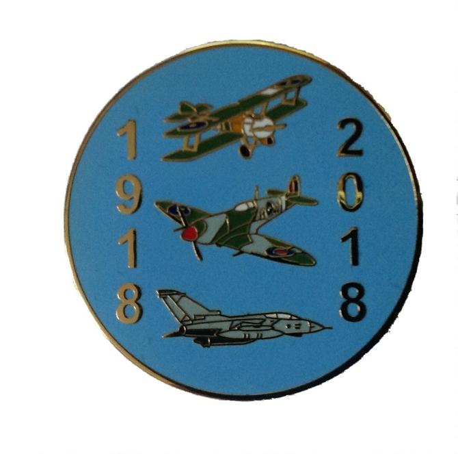 Raf 100 Commemoration Pin
