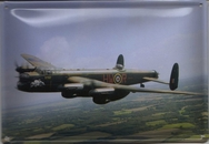 Lancaster Bomber Wall Plaque - 15 x 10.5cm