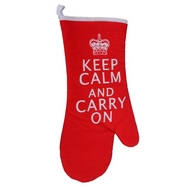 Keep Calm and Carry On Oven Mitt