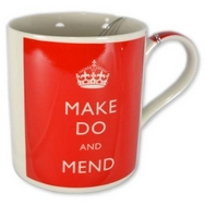 Bomber Command Make Do And Mend Mug