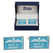 Official Royal Air Force Back to Blighty Cufflinks