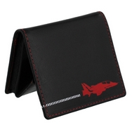 Red Arrows Leather Coin Holder