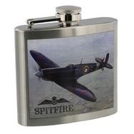 Spitfire Design Stainless Steel Hip Flask