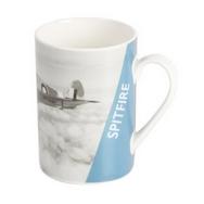 RAF Spitfire Picture Mug