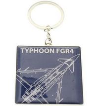 RAF Silver Plated Tornado GR4 Blue Print Keyring