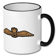 Royal Air Force Brevet Wings Mug