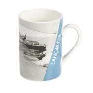 RAF Lancaster Bomber Ceramic Mug