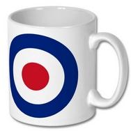 RAF Roundel Ceramic Mug