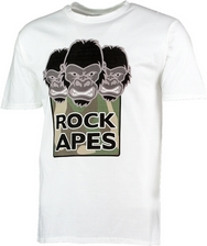 Official Royal Air Force Rock Apes T Shirt - Adult