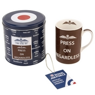 Press on Regardless Mug - Royal Air Force mug