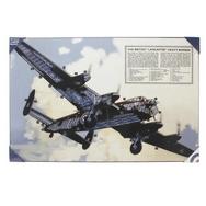 Lancaster Bomber Hardboard Print
