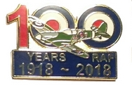RAF 100th Anniversary Pin
