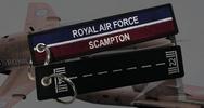 RAF Scampton Remove Before Flight Keyring