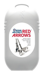 Official RAF Red Arrows Golfing Tee and Marker accessory Pod