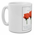 Remembrance Poppy China Mug