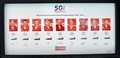 Official Red Arrows Limited Edition 50th Season Signed Framed Set
