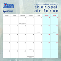 Official Royal Air Force Salute to The Past 2018 Calendar