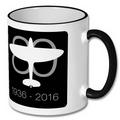 Lancaster and Spitfire Anniversay Logo Mug Set