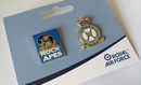 RAF Regiment Badge and Rock Apes 2 pin set