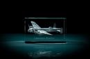 AVRO Lancaster Bomber 3D Laser Etched Crystal Cube - Medium