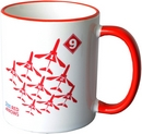 RAF Red Arrows Logo Mug