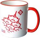 RAF Red Arrows Diamond Nine Mug