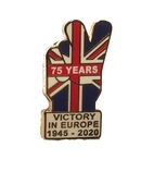 VE Day Victory Pin Badge