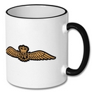 Royal Air Force Wings Fine China Mug