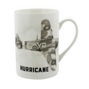 RAF Hurricane Sketch Ceramic Mug