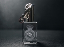 Official BBMF Glass Crystal Keyring