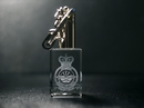 Official RAF Dambusters Glass Crystal Keyring