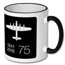 RAF Spitfire Sketch Mug