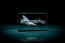 AVRO Lancaster 3D Laser Etched Crystal Cube - XXXL