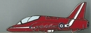 Official RAF Red Arrows Plane Pin