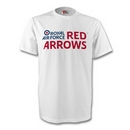 Official Red Arrows Logo Adult T Shirt