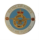 Royal Air Force Lest We Forget Coin