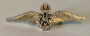 Official RAF Wings Sweetheart Brooch - Silver