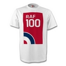 RAF 100 Large Logo T Shirt