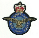 RAF Per Ardua Ad Astra Embroidered Patch