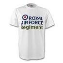 Official Royal Air Force Regiment Logo T Shirt