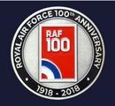 RAF 100 Logo Coin