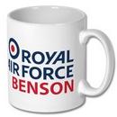Official RAF Benson Logo Mug