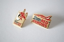 Official Red Arrow Core and Swoosh pins