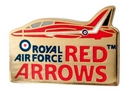 Official Royal Air Force Red Arrows Core pin badge