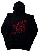 Red Arrows Adult Hoodie - Diamond Nine