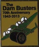 Limited Edition Dambusters Official 70th Anniversary Lancaster Bomber Badge
