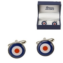 Official Royal Air Force Roundel Cufflinks