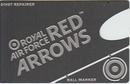 Red Arrows Golf Marker and Repair Wallet Tool